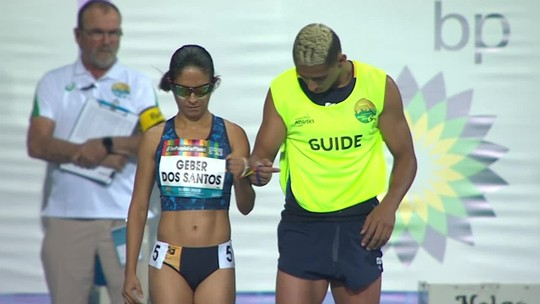 Jerusa dos Santos avança para a final dos 100m no Mundial de atletismo paralímpico