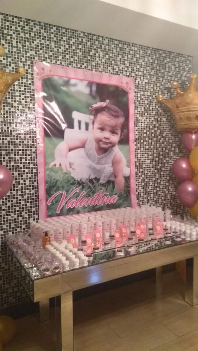 O aniversário de Valentina, de Neném e Thais (Foto: Reprodução)