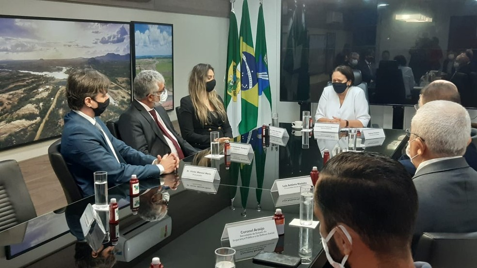 Decisão foi comunicada após reunião — Foto: Sérgio Henrique Santos/Inter TV Cabugi