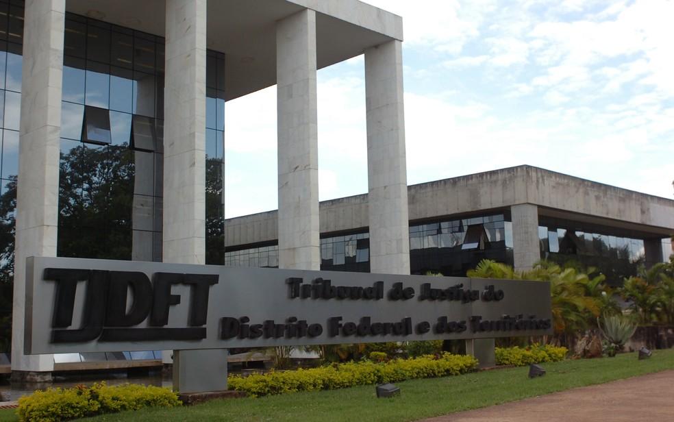 Fachada do Tribunal de Justiça do Distrito Federal, em imagem de arquivo — Foto: TJDFT/Divulgação