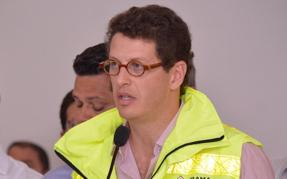 Ricardo Salles — Foto: Bruno Fernandes/Agência Pixel Press/Estadão Conteúdo