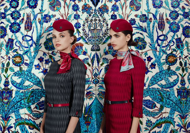 Uniformes Turkish Airlines (Foto: Divulgação)