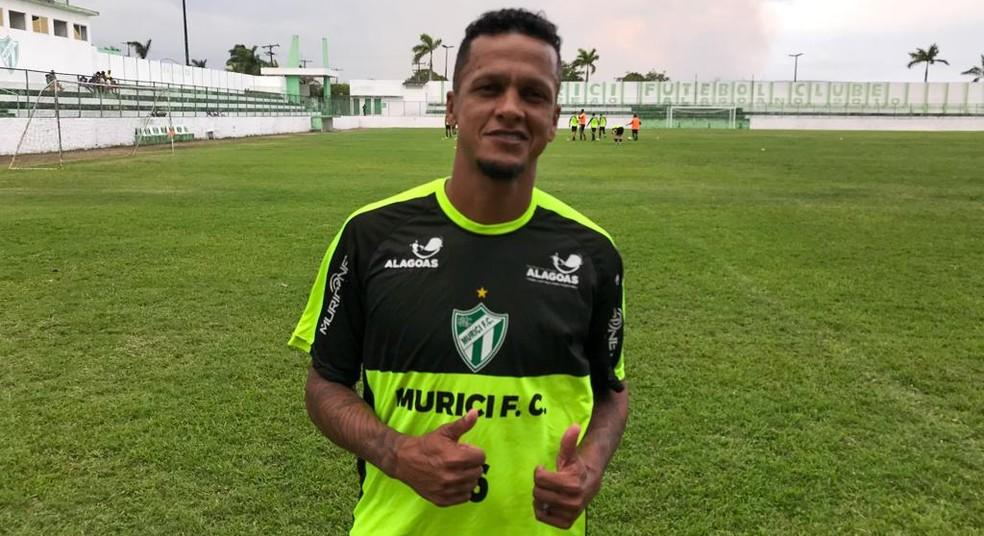 Experiente Souza segue no Murici para a reta final do Alagoano — Foto: Jailson Colácio/Ascom Murici