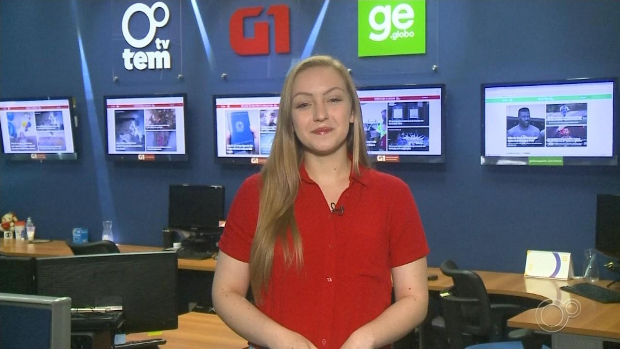 Júlia Martins traz os destaques do G1 no TEM Notícias deste sábado