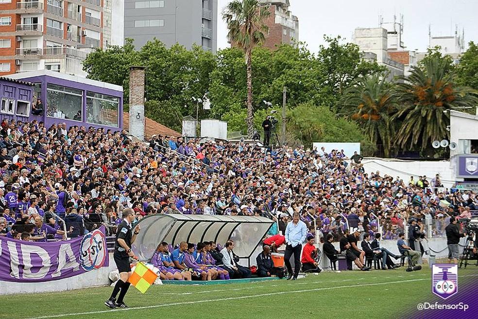 Estádio Luis Franzini, do Defensor Sporting (Foto: Defensor Sporting / DVG)