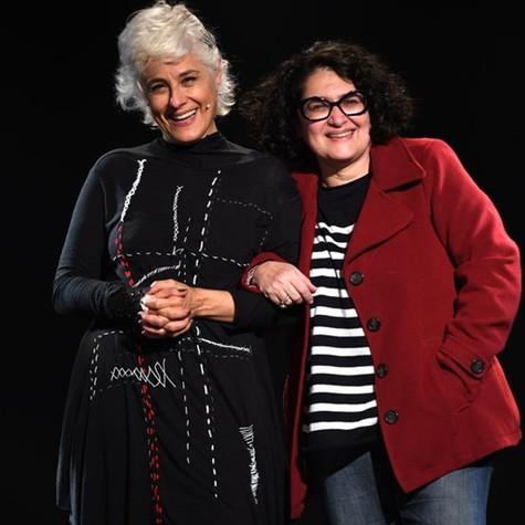 Soraya Ravenle e Inez Vianna (Foto: Cristina Granato)
