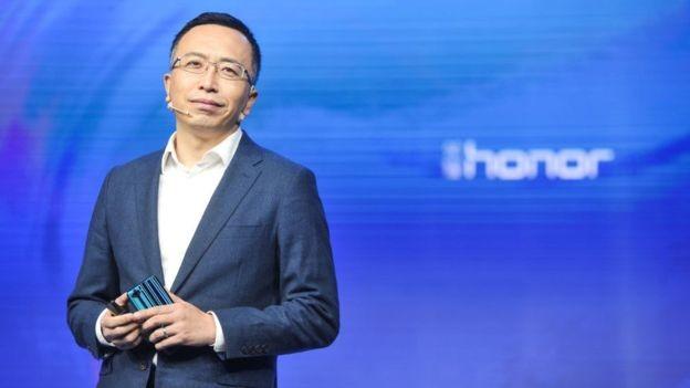 George Zhao disse que a meta para esse ano era vender seis milhões de celulares no mercado externo (Foto: GETTY IMAGES/via BBC News Brasil)