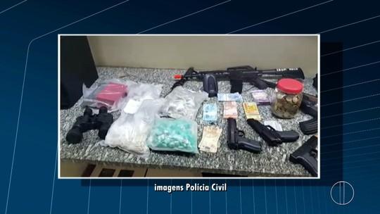 Polícia Civil cumpre mandados de prisão em operação contra o tráfico de drogas em Itaocara, no RJ