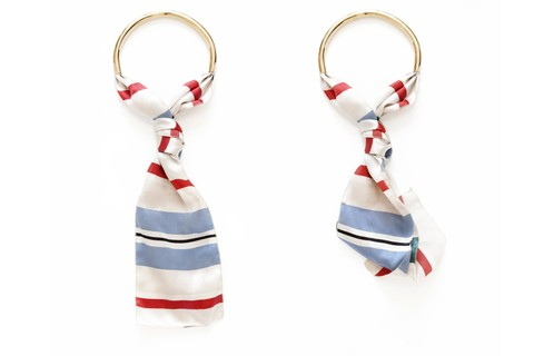 Necklace-foulard