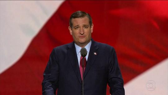 Republicano Ted Cruz surpreende e rejeita apoio a Donald Trump