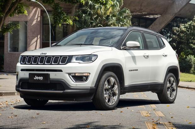 Jeep Compass pode ganhar versão de sete lugares no Brasil (Foto: Divulgação)