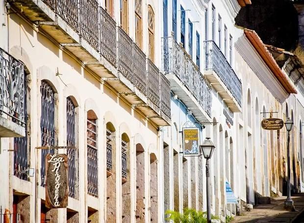 As construções do Centro Histórico de Maranhão incluem varandas e janelas amplas para aliviar o calor da cidade (Foto: IPHAN/ Reprodução)