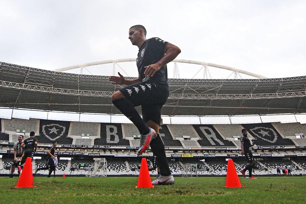 Felipe Ferreira é o reforço mais recente do Botafogo na temporada — Foto: Vitor Silva/Botafogo
