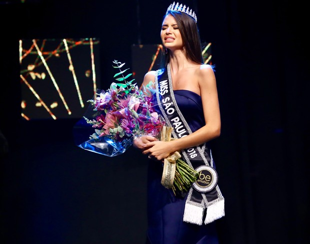 Paula Palhares é a nova Miss São Paulo (Foto: Manuela Scarpa/Brazil News)