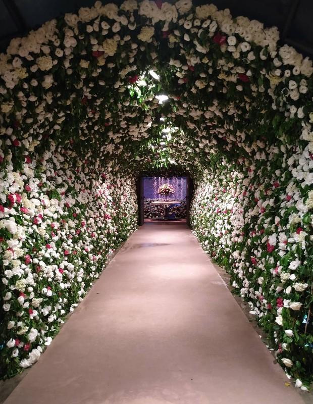 Local da festa de casamento de Projota e Tamy Contro (Foto: Reprodução: Instagram)