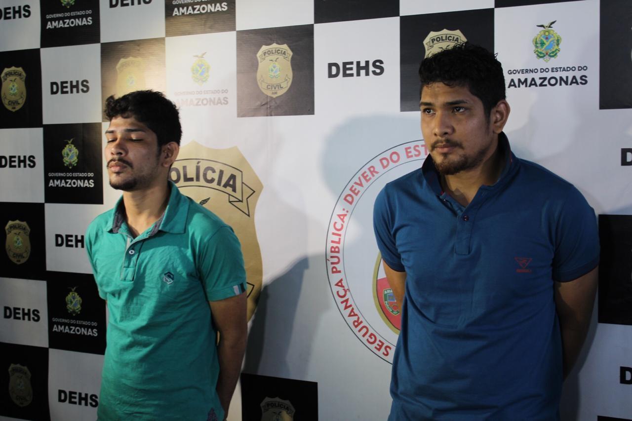 Irmãos são presos suspeitos de matarem homem; vítima teria roubado droga da dupla - Notícias - Plantão Diário