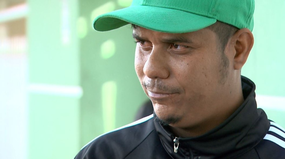 Luiz Carlos da Silva diz que família não se conforma com a perda de Amanda após acidente em Sertãozinho, SP — Foto: Fábio Júnior/EPTV