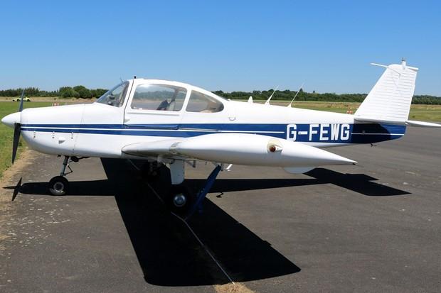 O G-FEWG, um dos aviões da Subaru (Foto: Reprodução)
