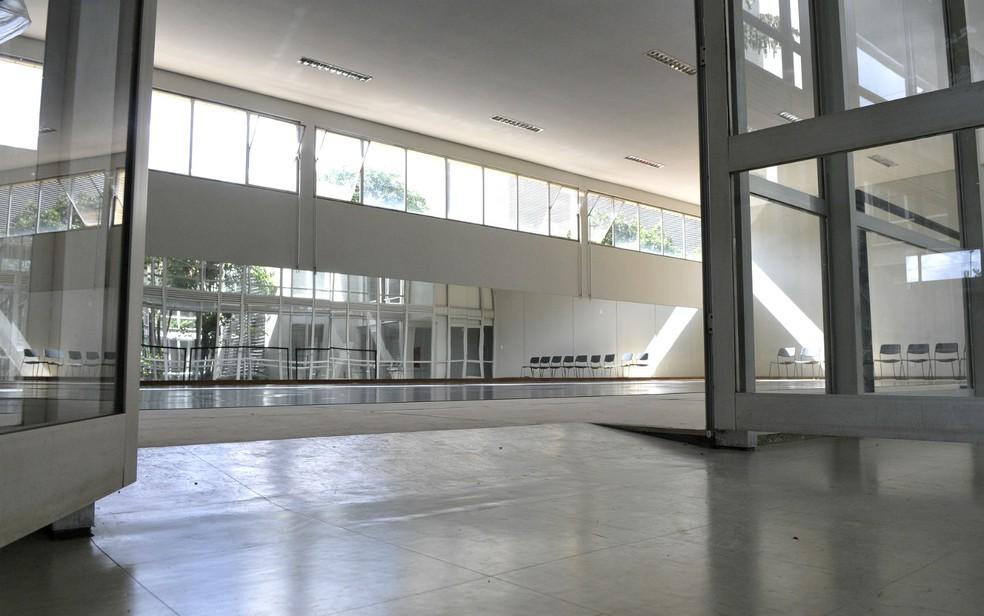 Sala de dança do Centro de Dança de Brasília — Foto: Renato Araújo/Agência Brasília/Divulgação