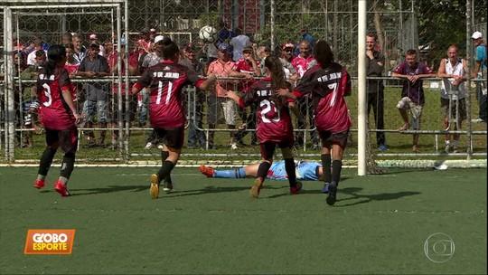 Foram definidos os finalistas da Taça das Favelas