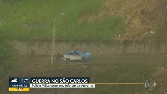 Traficantes rivais tentam invadir morro do São Carlos, no Estácio