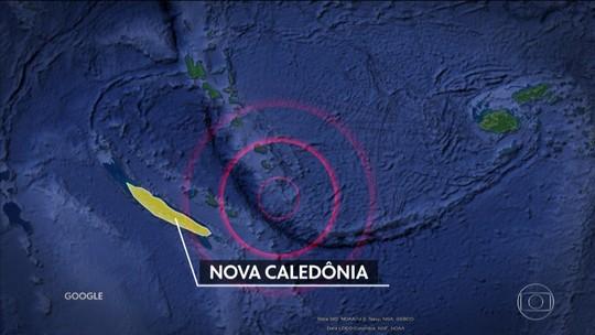 Forte terremoto atinge a região da Nova Caledônia, no Pacífico Sul; há alerta de tsunami para um raio de 1.000 km