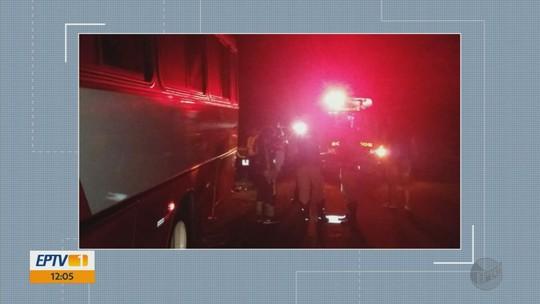 Ciclista é atropelada por ônibus em rodovia de Três Corações, MG