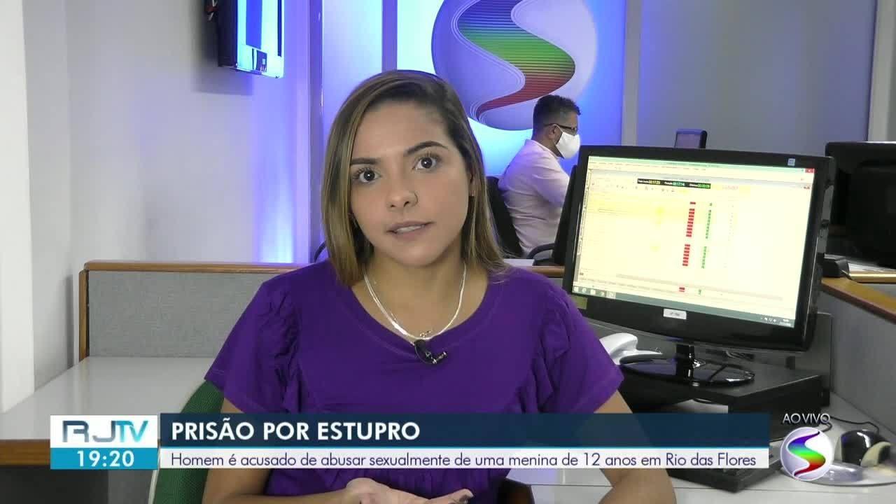 Homem é acusado de abusar sexualmente de menina de 12 anos em Rio das Flores
