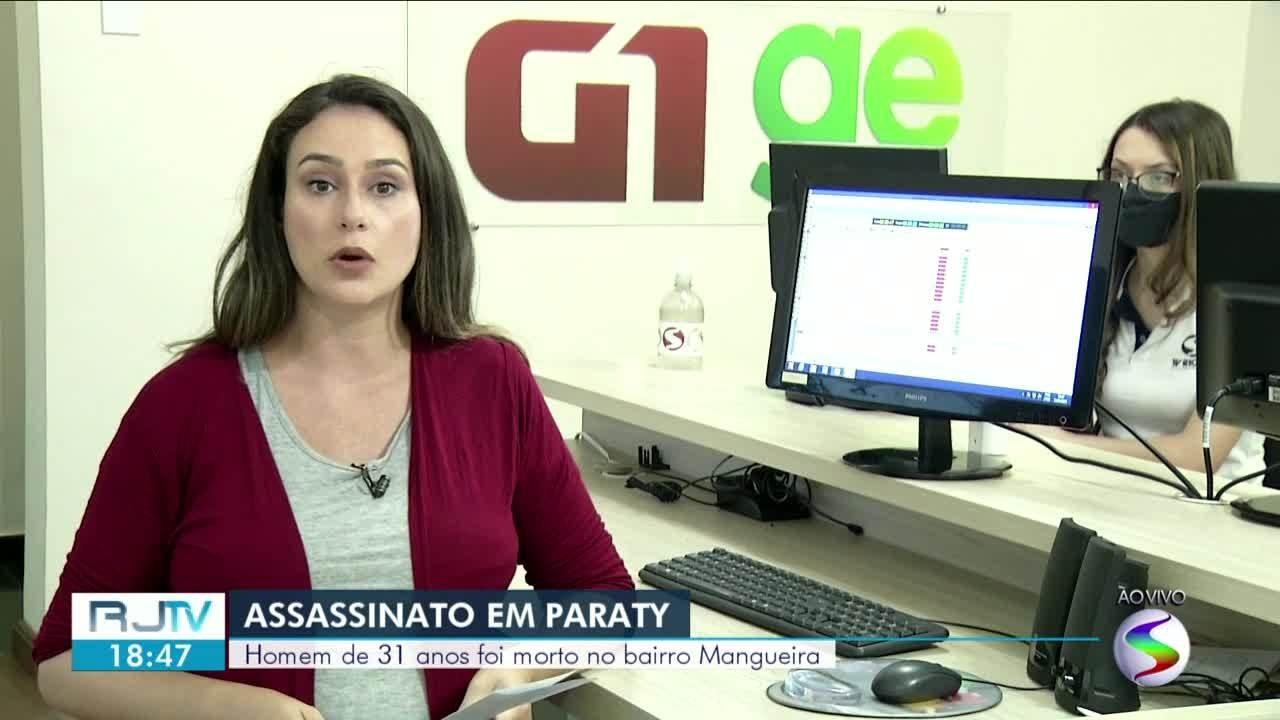 Homem é assassinado a tiros no bairro Mangueira, em Paraty
