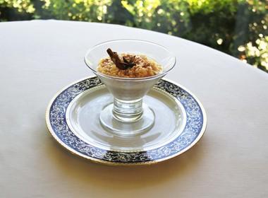 Arroz doce integral com especiarias (Foto: Divulgação)