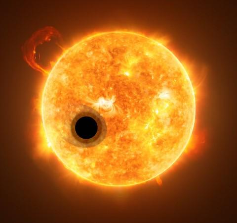 """Planeta """"algodão-doce"""" desafia teoria sobre formação de gigantes gasosos"""