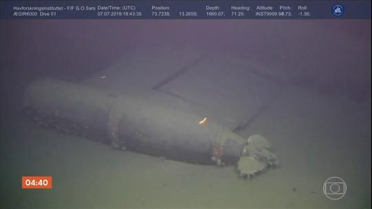 Noruega detecta nível de radiação maior do que o normal em submarino soviético