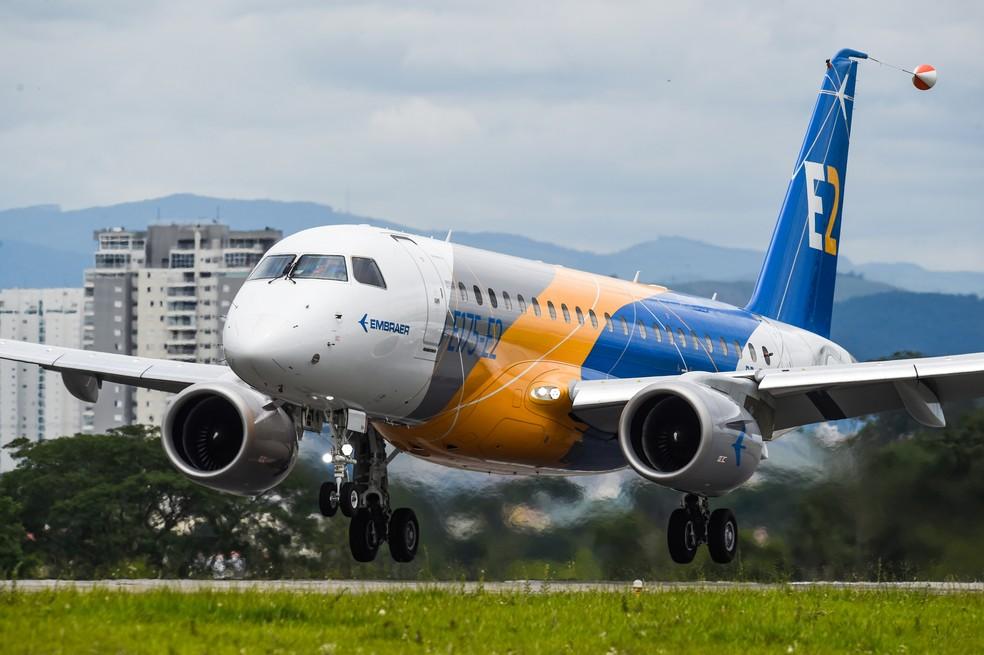 Prejuízo acumulado da Embraer em 2020 chega a R$ 3,6 bilhões — Foto: Embraer/Divulgação