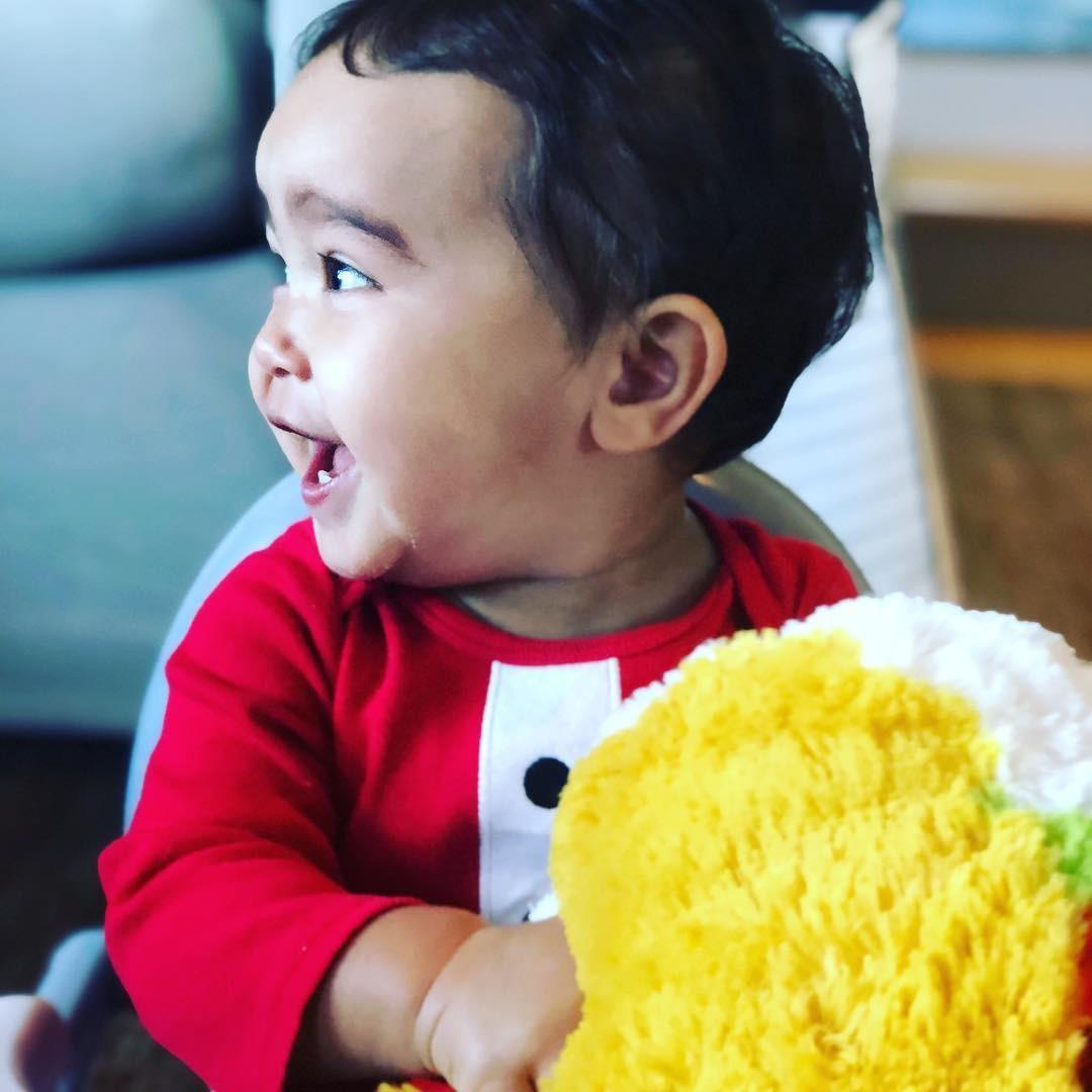 Hayes completa 1 ano nesse 31 de dezembro de 2018 (Foto: Reprodução Instagram)