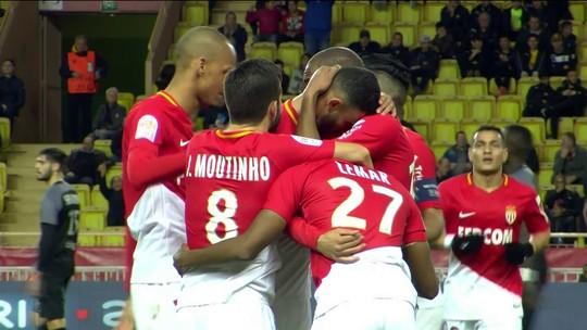 Jorge faz belo gol, se lesiona logo em seguida, e Monaco vence lanterna Metz