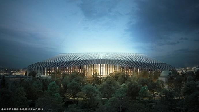 Novo estádio Chelsea Stamford Bridge (Foto: Divulgação/Chelsea)