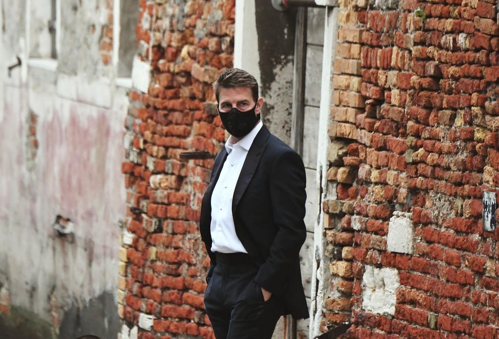 Tom Cruise dá bronca em equipe de 'Missão Impossível 7' para seguir  precauções contra Covid-19 | Cinema | G1