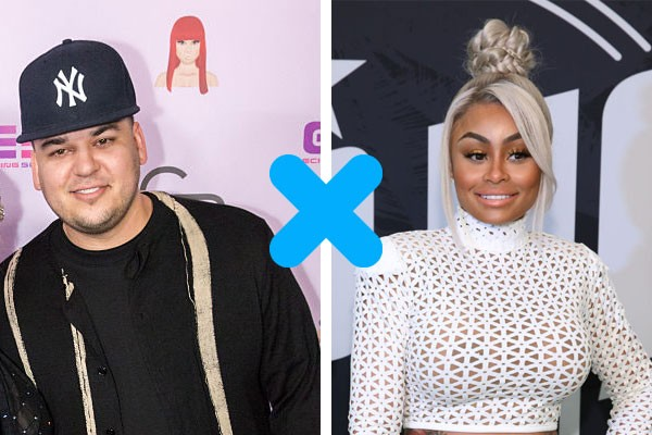 Rob Kardashian X Blac Chyna  (Foto: Getty Images)