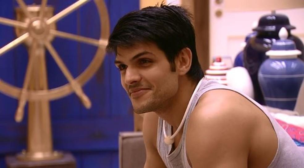Lucas  (Foto: TV Globo)