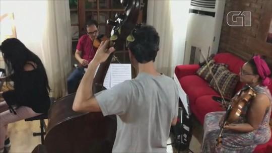Violista da Ospa tenta recuperar instrumento artesanal levado em assalto