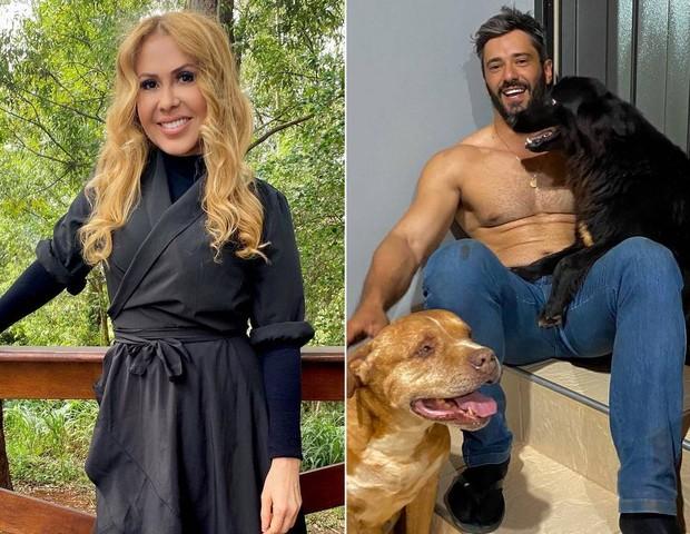 Joelma troca mensagens com fazendeiro gato e empolga fãs: Tá namorando