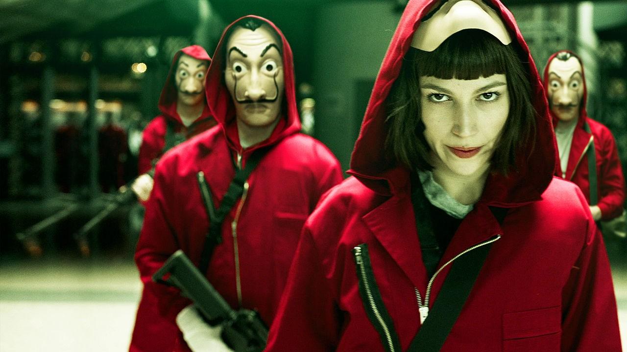 A série espanhola La Casa de Papel se tornou o original de língua não-inglesa mais assistido na história da Netflix (Foto: Divulgação)