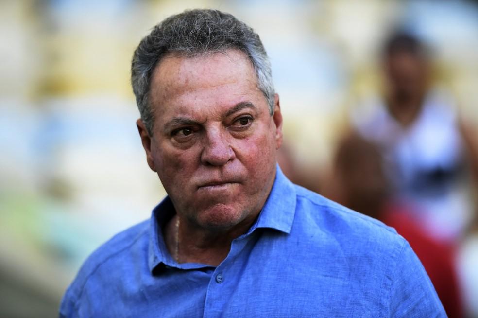 Abel Braga não deve ser técnico do Santos em 2019 — Foto: André Durão
