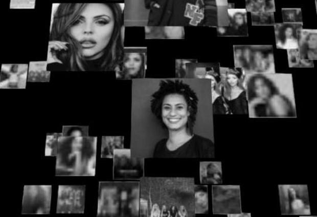 Marielle Franco é homenageada em clipe do Little Mix (Foto: Reprodução)