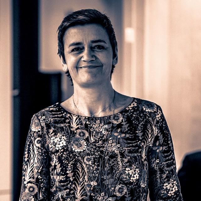 Margrethe Vestager - 50 anos, comissária da União Europeia Ex-ministra da economia e do interior e ministra da educação, além de líder do Partido Social Liberal Dinamarquês (Foto: Getty Images)