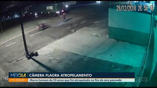 Empresário morre em hospital após ser atropelado por moto em Maringá; VÍDEO