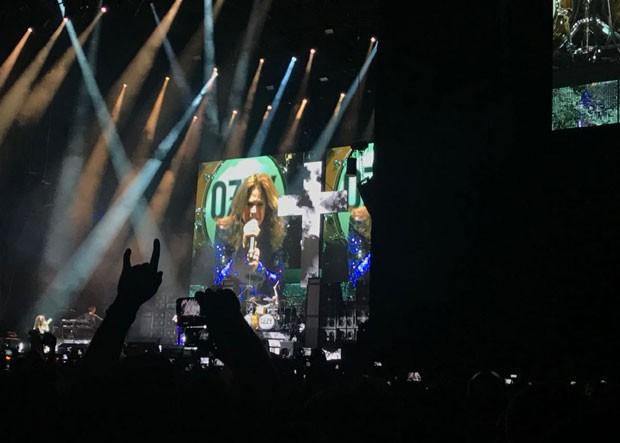 Ozzy Osbourne se apresenta em São Paulo (Foto: Ana Carolina Rocha Moura)