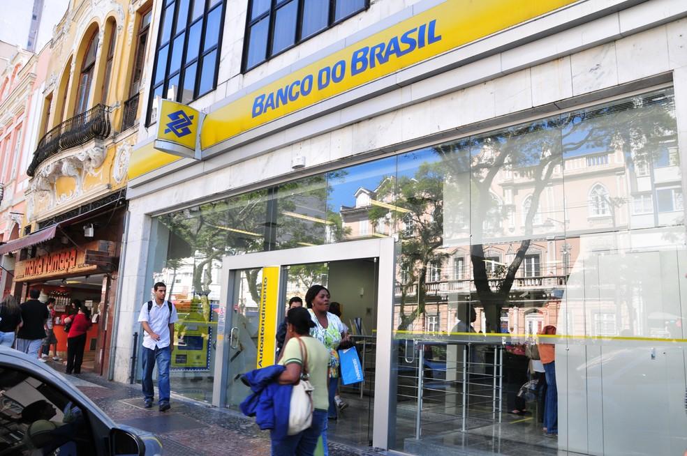 Fachada do Banco do Brasil em Petrópolis — Foto: Marco Oddone / Divulgação