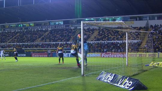 Criciúma 1x1 Paraná: veja os gols e os melhores lances do jogo da 37ª rodada da Série B