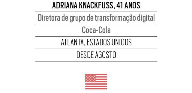 Adriana Knackfuss, 41 anos, Diretora de grupo de transformação digital Coca-Cola (Foto: Arquivo pessoal)